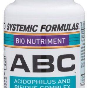 Acidophilus/Bifidum/Bulgaricus Complex by Systemic Formulas, Inc.